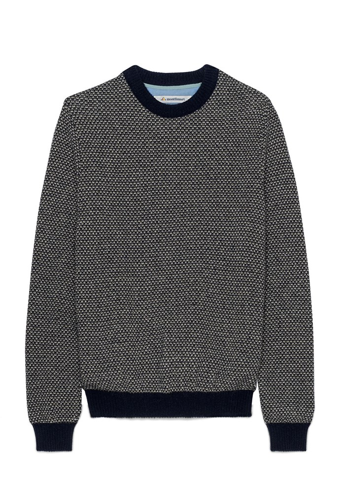 Pull ALENTOUR - Fibres recyclées - Made in France 2