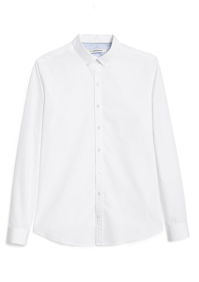 Chemise SAINT-REMY- Made in France - Blanc 2