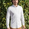 Chemise SAINT-REMY- Made in France - Blanc 4