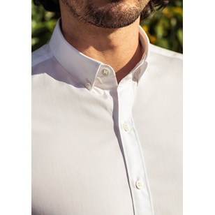 Chemise SAINT-REMY- Made in France - Blanc