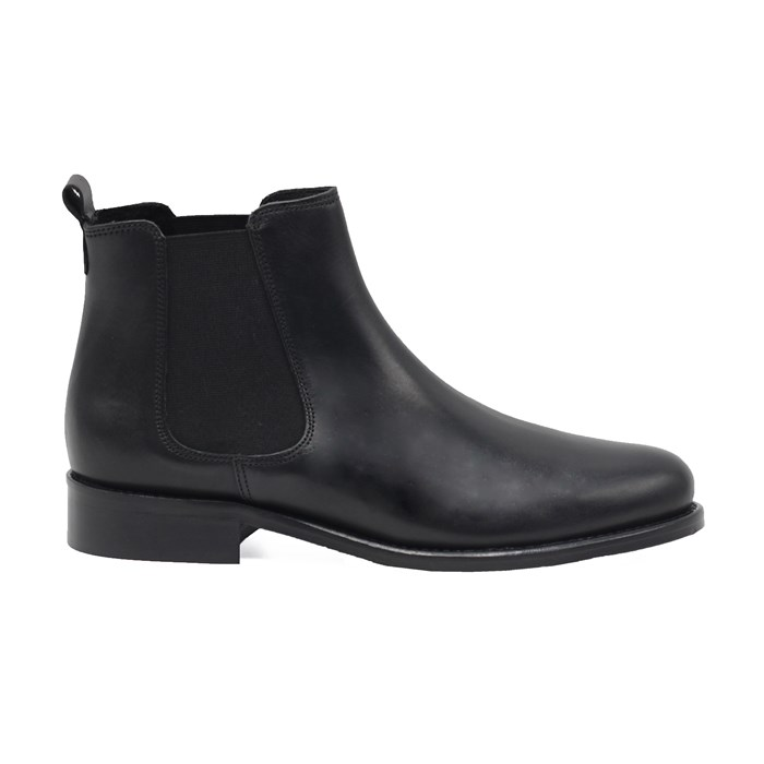 Bottines Chelsea cuir noir 5