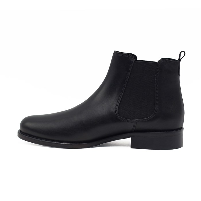 Bottines Chelsea cuir noir 6