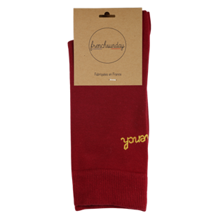 Les Bordelaises - Chaussettes Frenchsunday  - Made In France
