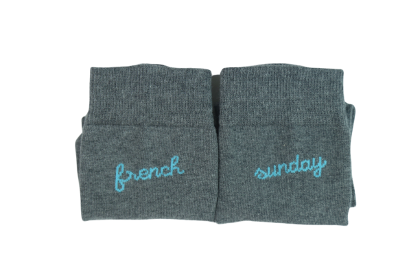 Les Grigris(es) - Chaussettes Frenchsunday  - Made In France 4