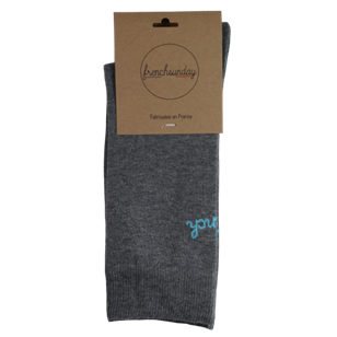 Les Grigris(es) - Chaussettes Frenchsunday  - Made In France