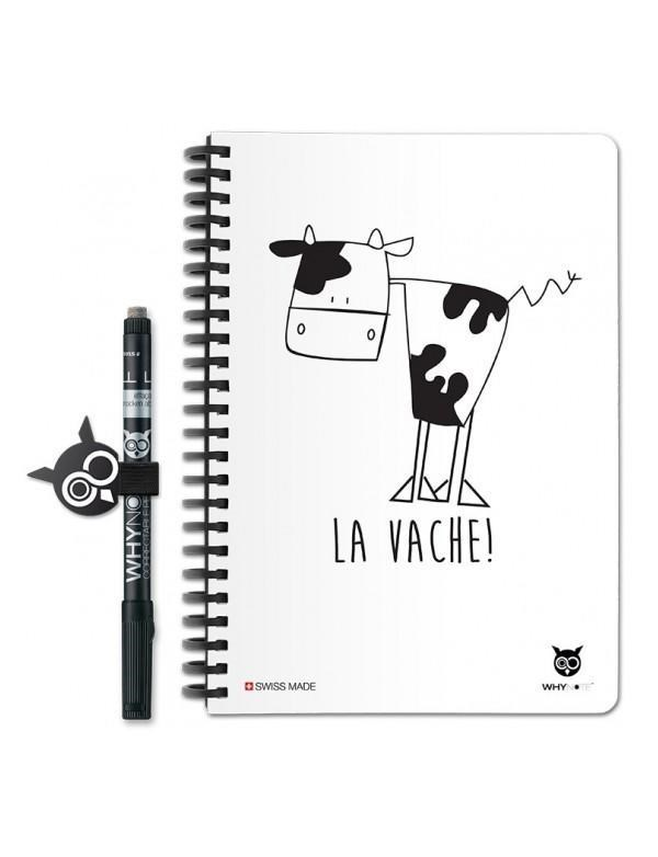 Why Note Book, le carnet A5 réutilisable - Oh la vache 5