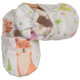 Chaussons souples - Fox and bear Multicolores