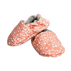 Chaussons souples - Constellation Corail