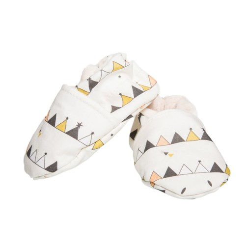 Chaussons souples - Tipis Multicolores