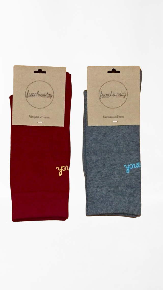 Les Duettistes - Chaussettes Frenchsunday  - Made In France 2