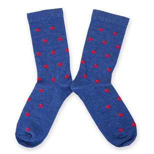 Chaussettes Love is Blue