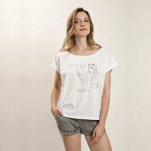 T-shirt loose blanc - Exister 2.0