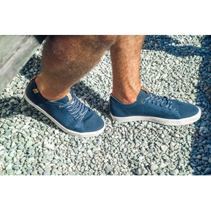 Saola chaussures éco responsables Cannon Knit Navy - Homme