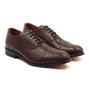 Richelieu Oxford cuir marron