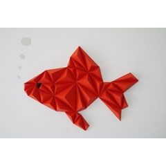 Kit papercraft - Duo Poissons rouges
