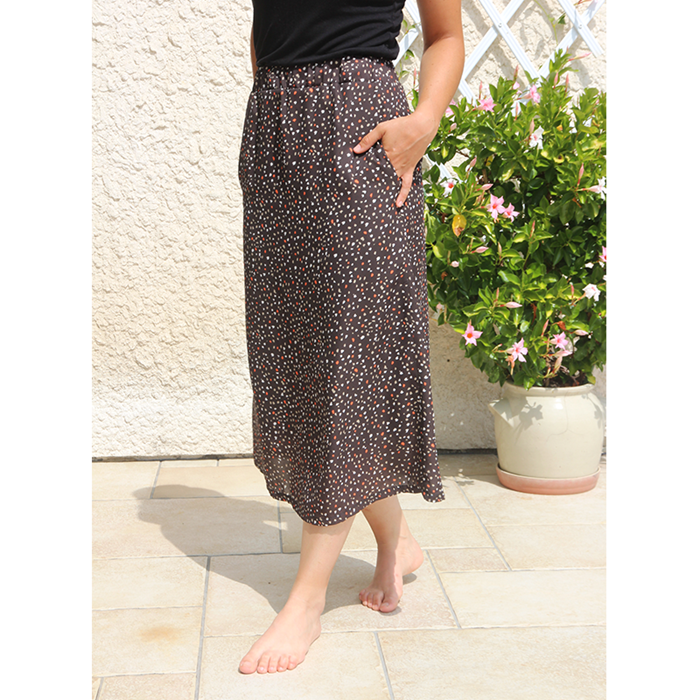 jupe-patineuse-maxi-taille-haute-fabriquee-en france
