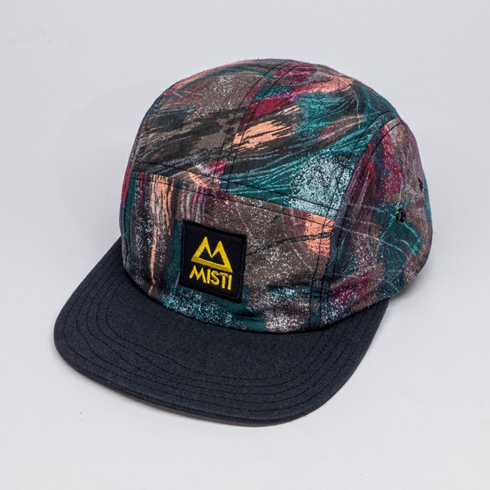 Casquette upcyclée 5 panels - Dresde 3