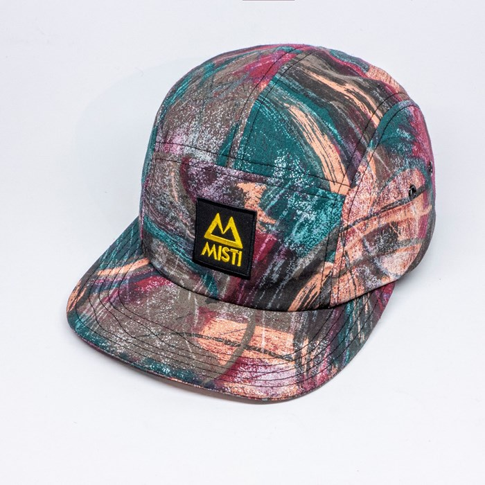 Casquette upcyclée 5 panels - Dresde 2