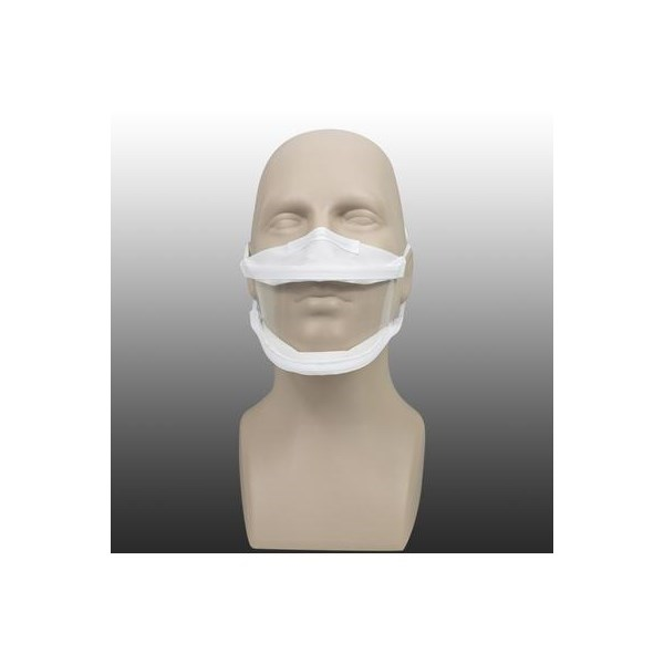 Masque inclusif made in France en tissu lavable DGA Cat.1 - 20 lavages 4