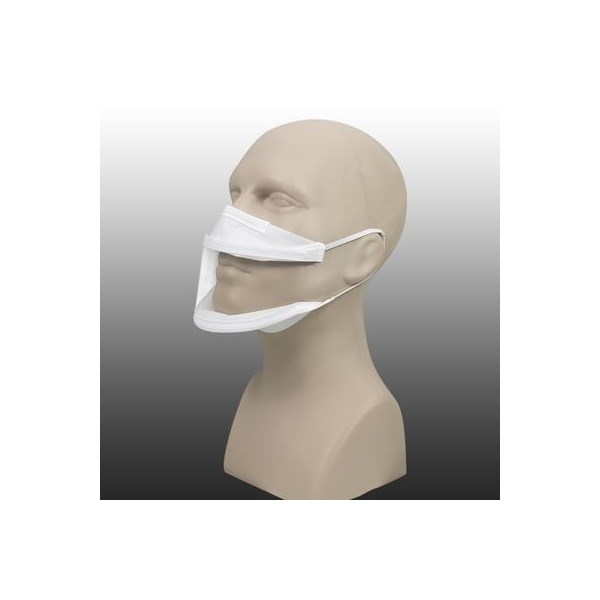 Masque inclusif made in France en tissu lavable DGA Cat.1 - 20 lavages 3