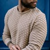 Pull DAMIER - Made in France - Coton Bio GOTS 7