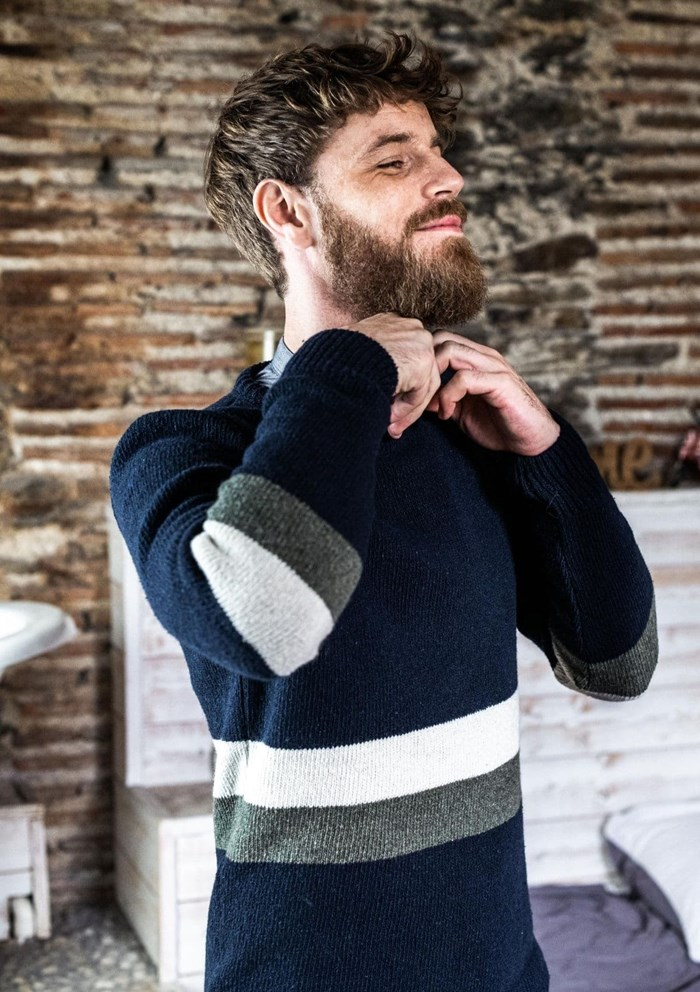 Pull NOMADE - Fibres recyclées - Made in France 3