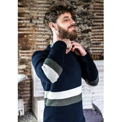 Pull NOMADE - Fibres recyclées - Made in France