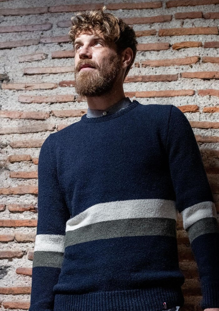 Pull NOMADE - Fibres recyclées - Made in France 4