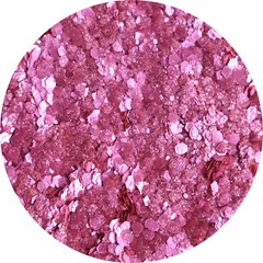 Paillettes biodégradables - Turfuchsia