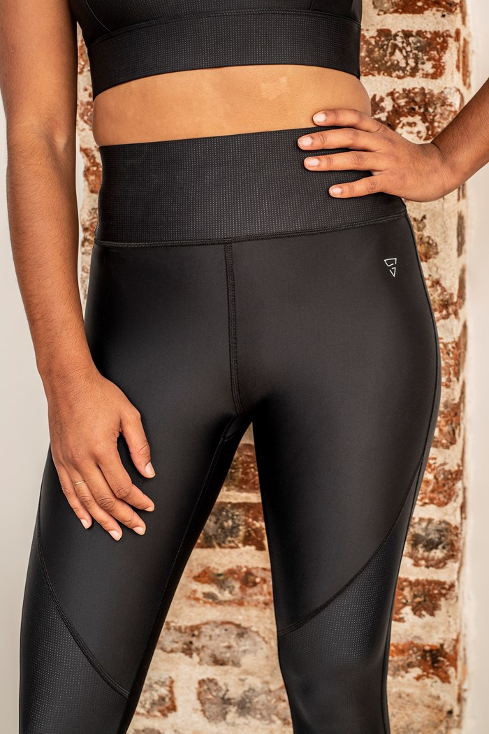 Legging Orion Noir Gayaskin vue de face zoom