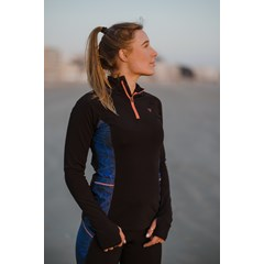 Pull running demi-zip THERMAL - Mercure