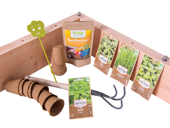 LE PACK POTAGER AROMATES 4