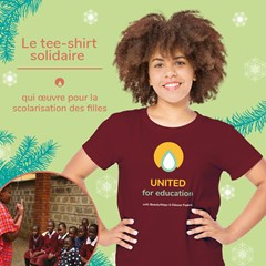 Le t-shirt solidaire UNITED for education