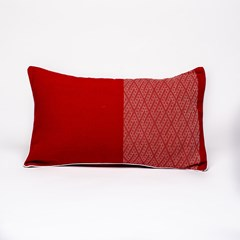 Coussin rouge en polyester - WALANG