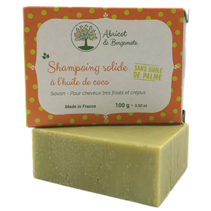 Shampoing solide - Huile de coco