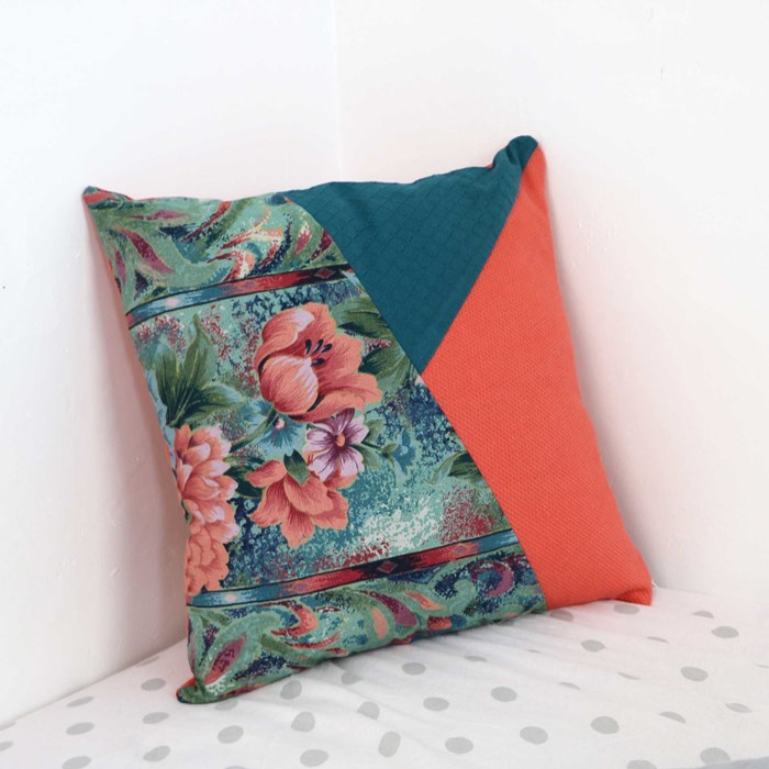 Coussin upcycling
