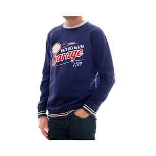 LARRY - Sweatshirt Garage - Coton Bio