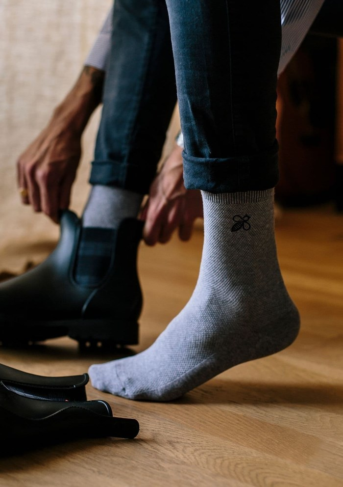 Chaussettes MONTLISOCKS - Made in France - Coton Biologique 2