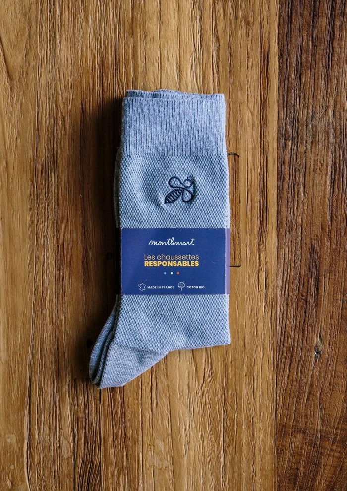 Chaussettes MONTLISOCKS - Made in France - Coton Biologique 3