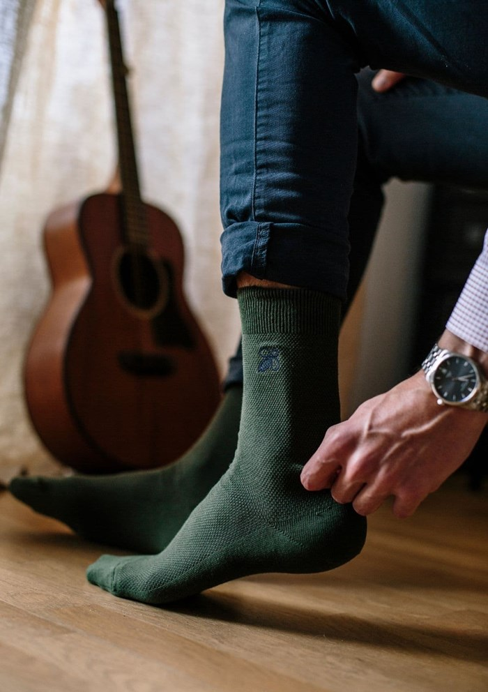 Chaussettes MONTLISOCKS - Made in France - Coton Biologique 4