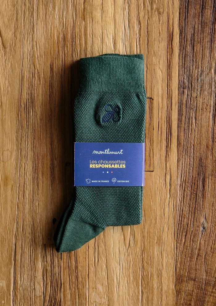 Chaussettes MONTLISOCKS - Made in France - Coton Biologique 5