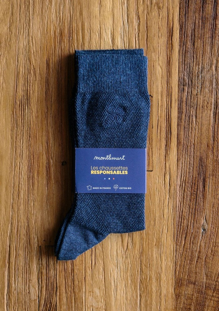 Chaussettes MONTLISOCKS - Made in France - Coton Biologique 7