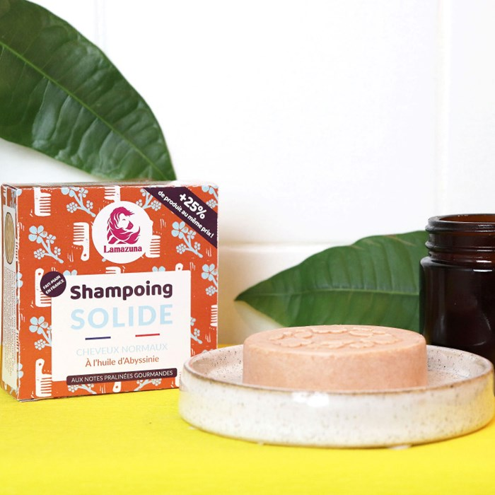 Shampoing solide à l'huile d'Abyssinie - Cheveux normaux 3