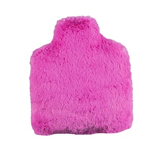Bouteille bouillotte fushia made in France
