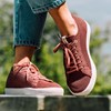 Saola chaussures éco responsables Cannon Knit Rusty Red - Femme  6