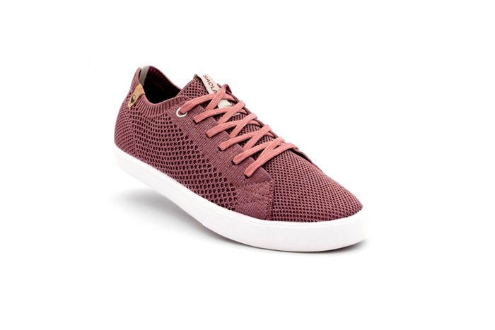 Saola chaussures éco responsables Cannon Knit Rusty Red - Femme  4