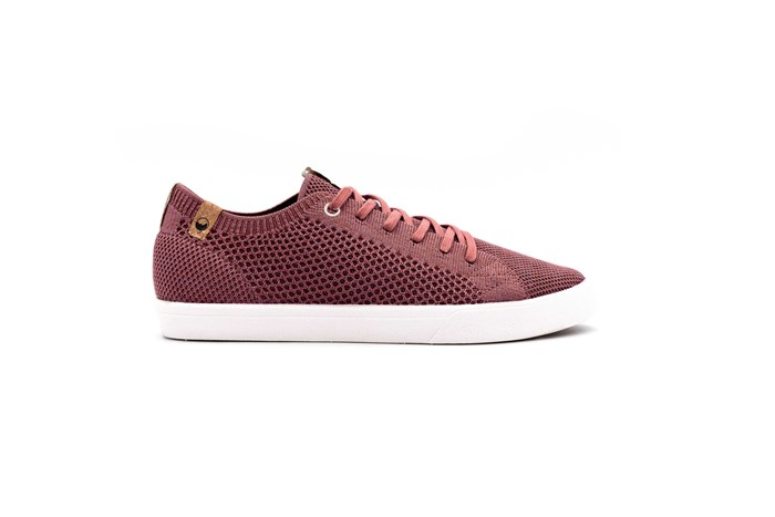 Saola chaussures éco responsables Cannon Knit Rusty Red - Femme  5
