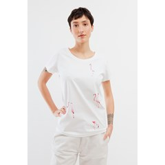 T-shirt motif Flamants roses