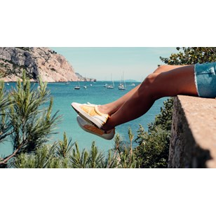 Chaussures éco responsables Cannon Spicy Mustard - Femme