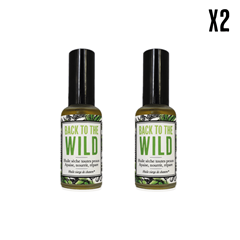 "Huile de chanvre ""Back to the wild"" X2"